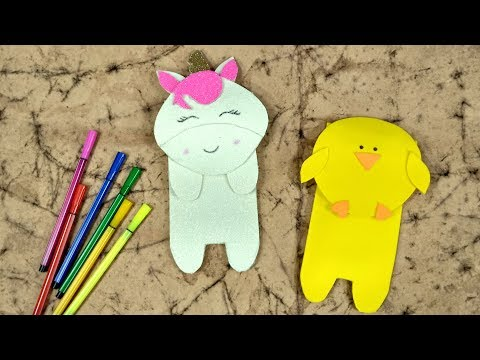 DIY Pencil Case | How to make pencil case | Crafts Junction