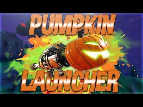 The Pumpkin Launcher Is So Sick! Fortnite Battle Royale Streamer Privilege! !