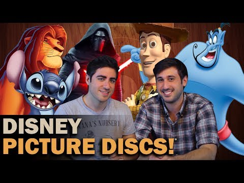 Disney Music Vinyl Records: MUST OWN Picture Disks Ft. Leo Camacho