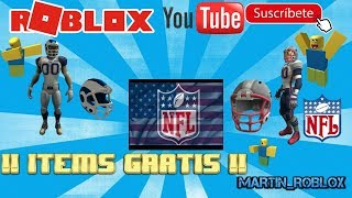 I test the new NFL packages in ROBLOX 2019