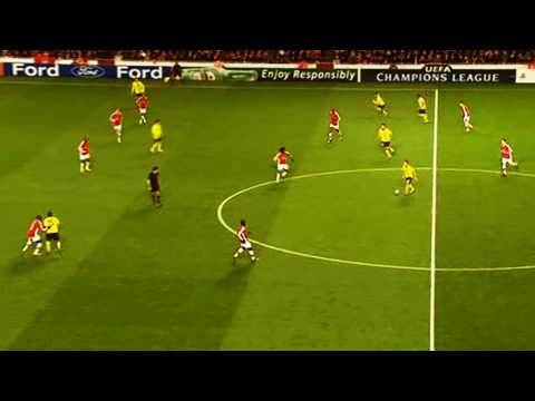 Xavi VS. Arsenal - Beautifully Simple by ElAlonso