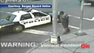 Cops beat down guy  for no reason
