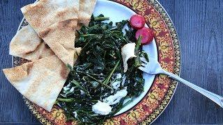 Տապակած Կաթնուկ - Warm Dandelion Dish - Heghineh Cooking Show in Armenian