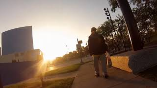 Indianapolis Electric Scooter (Bird) Early Saturday Morning Ride (GoPro)