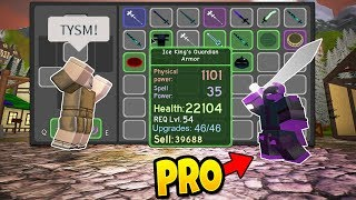 GIVING NOOBS OP WEAPONS! ROBLOX: Dungeon Quest