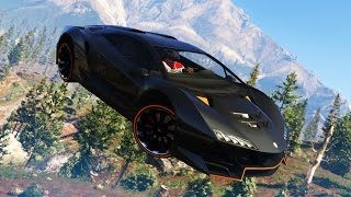 EPIC CAR & BIKE STUNTS! - (GTA 5 Top 10 Stunts)
