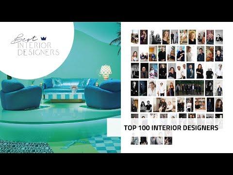 The Top 100 Interior Designers