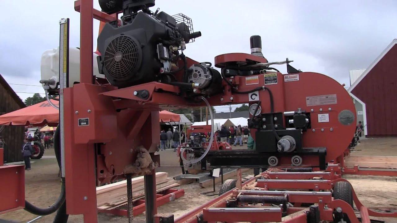 Bandsaw Mill For Sale >> WoodMizer Wood Mizer Display LT10 LT40 LT15 Hydraulic ...