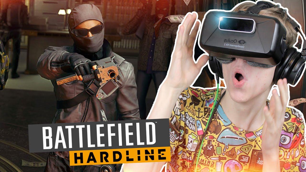 EPIC SHOOTER IN VR! | Battlefield: Hardline Campaign (Oculus Rift DK2)