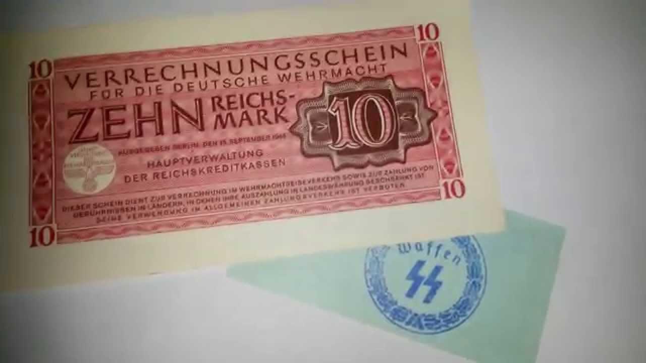 Resultado de imagen para hitler mark money
