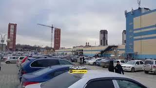 Новосибирск. Эвакуация в Сибирском молле.