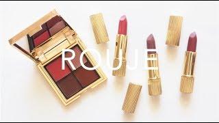 Le Rouje de Paris | Jeanne Damas Lipstick and Palette Review