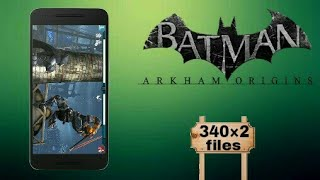 highly compress Batman Arkham Origins android game easy to download