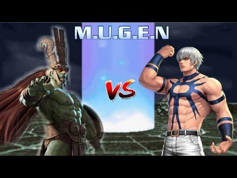 Ogre ( Tekken ) vs Orochi ( King Of Fighter )   M.I.G   KOF X Tekken Mugen Battle  