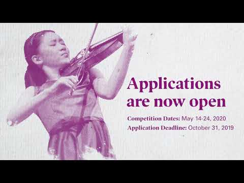 Apply now for the Menuhin Competition Richmond 2020
