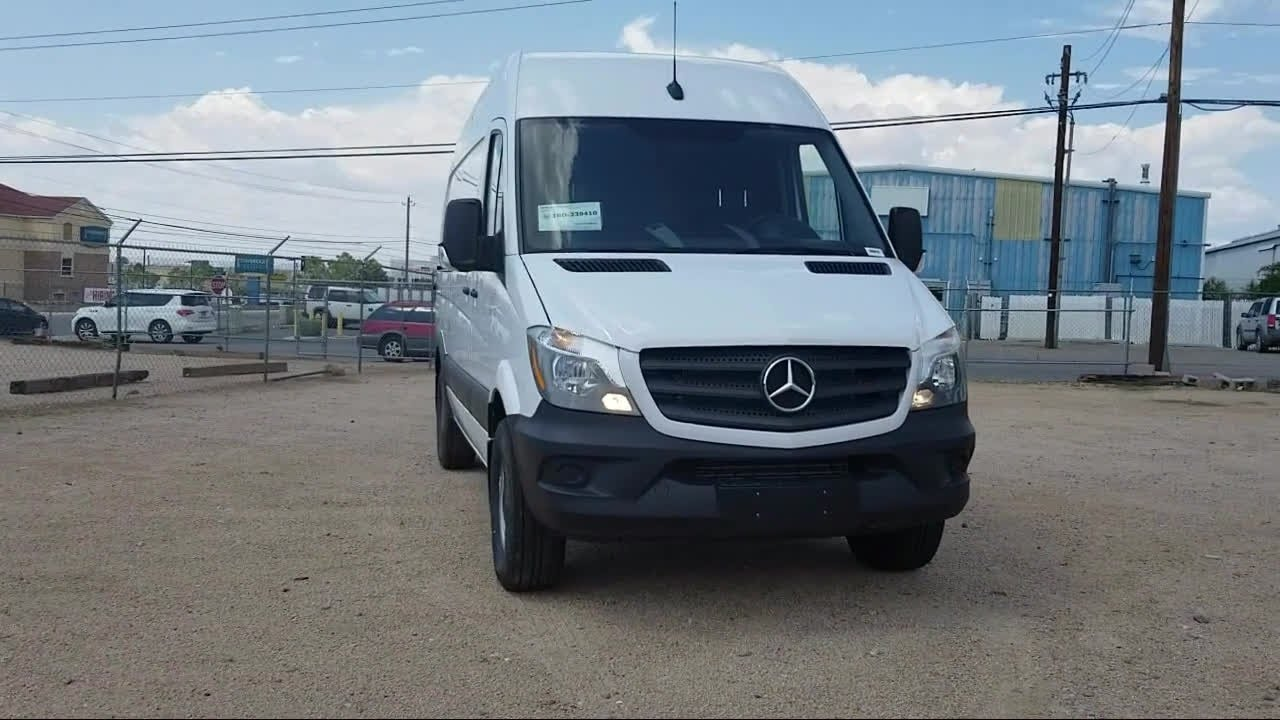 54511d0305 2018 Mercedes-Benz Sprinter 2500 3d Cargo Van Cargo 144 Albuquerque ...