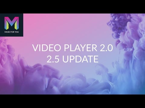 Player 20 Widget  25 Update  Adobe Muse CC  Muse For You