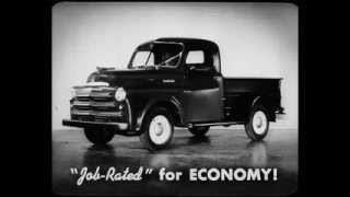 1950 Dodge Truck Dealer Promo FIlm - Geared to Your Job