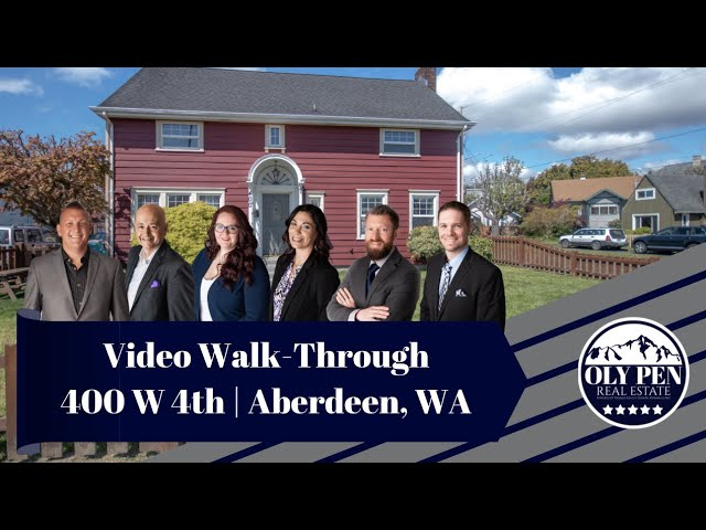 Video Walk-Through | 400 w 4th | Aberdeen, WA