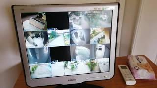 DVR Kamera Kayıt Cihazından Görüntü alma USB belleğe Video Alma