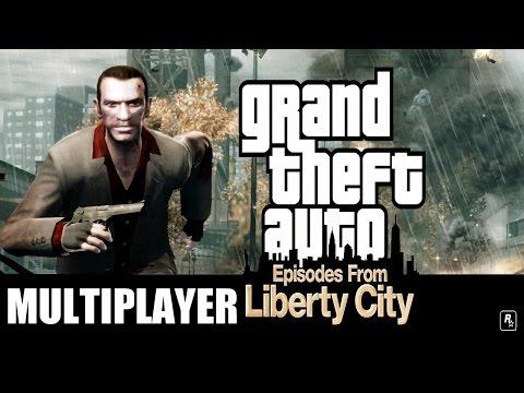 Türkçe GTA 4 EFLC Ghostgamer - Multiplayer Oynuyoruz +18
