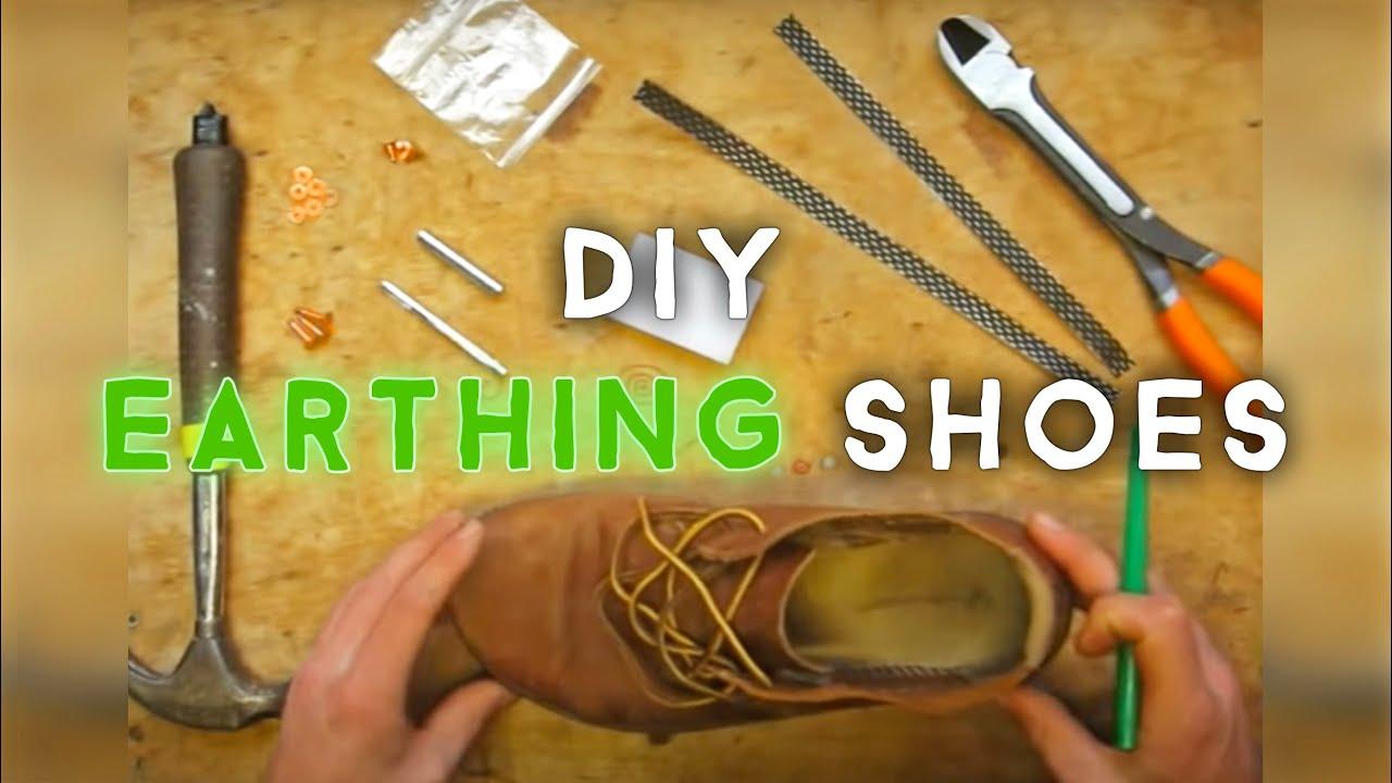 Earthing shoe diy kit w voltmeter test youtube solutioingenieria Images