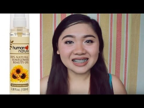 Human Nature Sunflower Beauty Oil Review (TAGALOG) | Grace VIllanueva