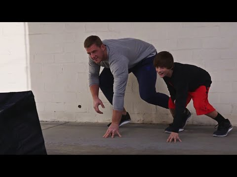 JJ Watt Makes An Imprint | ZPrint | Reebok