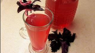 2 dakikada şifa dolu serinleten içecek tarifi - Reyhan şerbeti nasıl yapılır - Ev Lezzetleri