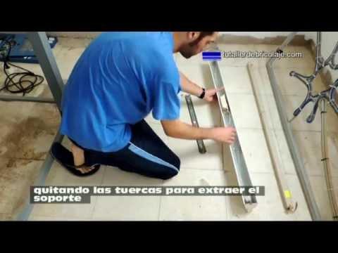 Cómo instalar un fluorescente