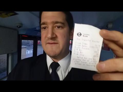 Bus Transfer Voucher Ticket for London's Passengers.