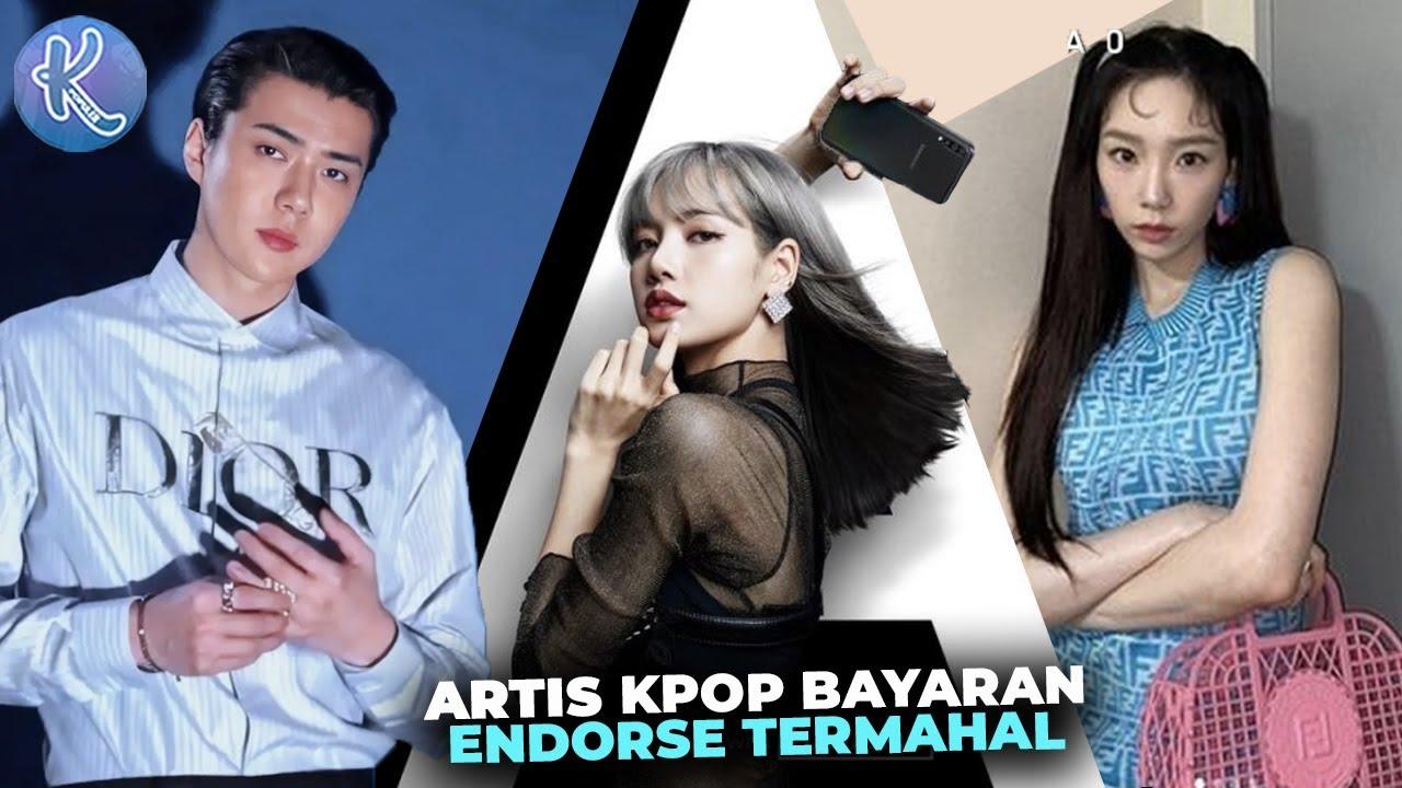 Dibayar Rp2,86 Miliar Sekali Posting! Inilahn 10 Idol Kpop Dengan Bayaran Endorse Termahal 2021