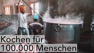 KOSTENLOSES ESSEN für 100.000 MENSCHEN - Der GOLDENE TEMPEL in Amritsar, Indien !