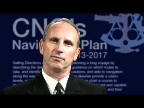 Chief of Naval Operations Speaks About The Navigation Plan