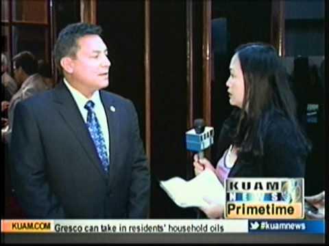 Governor Eddie Calvo's thoughts on Congresswoman Madeleine Bordallo's speech