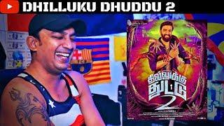 Dhilluku Dhuddu 2 Teaser 2 Reaction | Santhanam | Dj Yashi Vlogs Mix