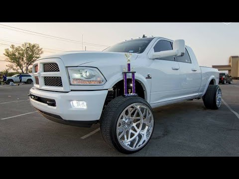 2014 Ram 2500 On 24x14 Specialty Forged Wheels 305 Tires
