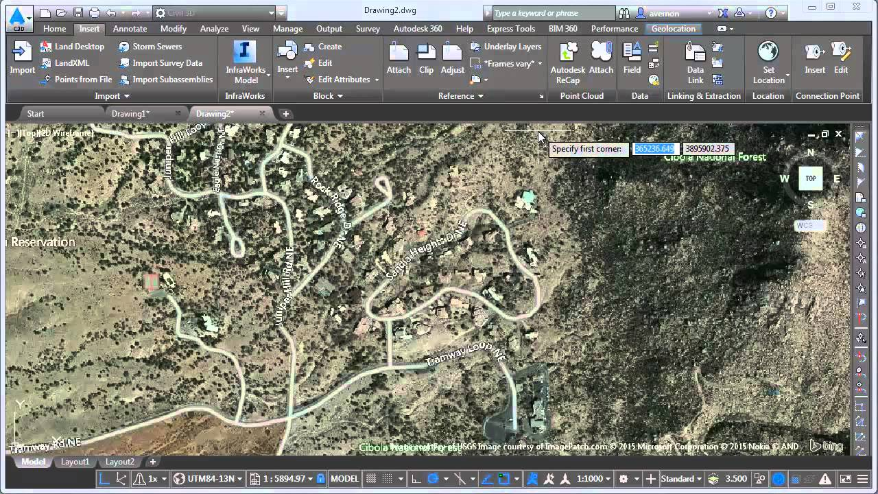 Drainage design Civil 3D