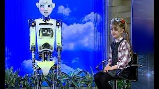 Ведущий программы «Робомания» робот Робби Суперзвезда: мне очень хорошо живется в мире людей