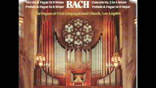 J.S. Bach:  Concerto No. 2 in A Minor BWV 593:  1st Mvt- Allegro