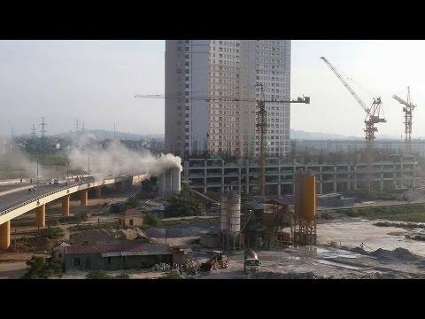 Clip ô nhiễm không khí tại Khu đô thi Spark DN Nam Cường Hà Đông HN – Tin Môi Trường