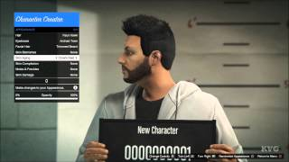 Grand Theft Auto 5 Online - Create | Customize Character (PS4 HD) [1080p]