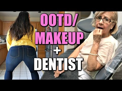 OOTD/MAKEUP + DENTIST TIME!