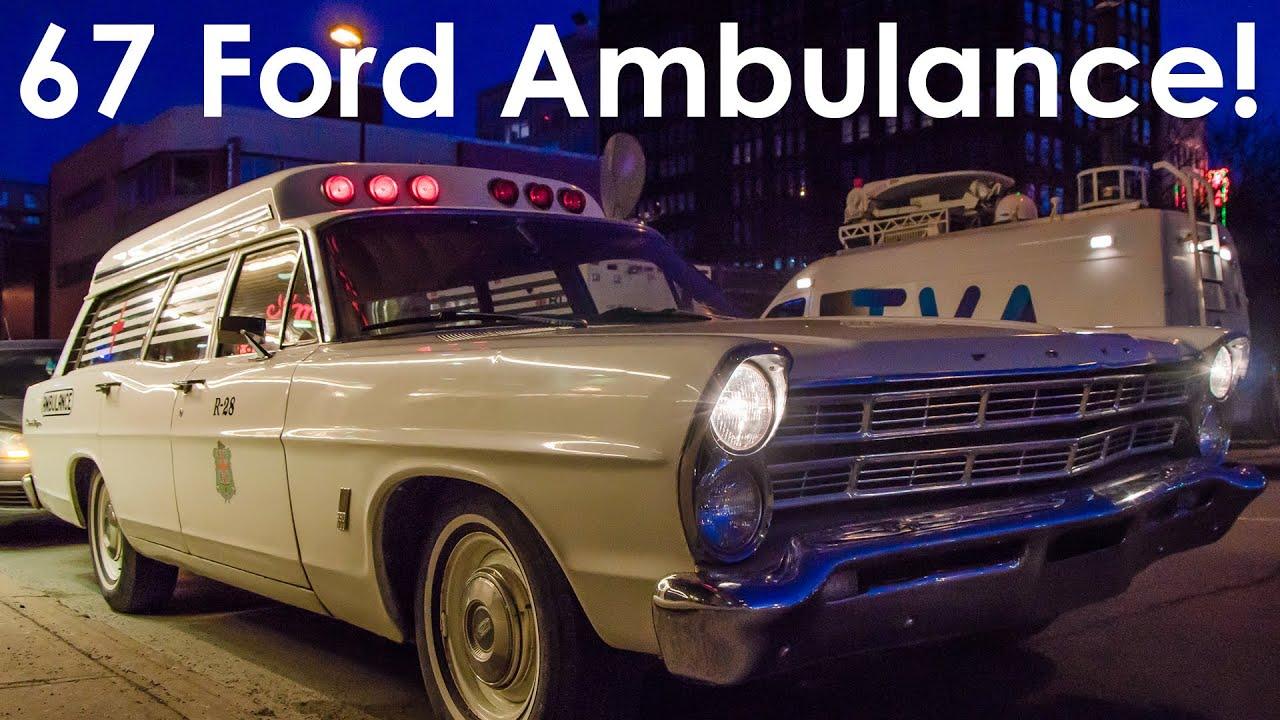 Classic Car Showcase - 1967 Ford Ranch Wagon Ambulance Clone ...