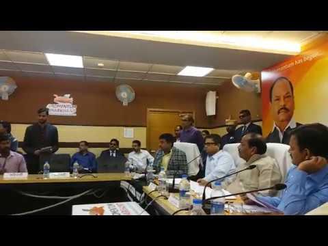 Cm Raghubar Das Ki Janta Se Sidhi Bat At Soochna Bhawan.cm Jan Samwad