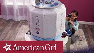 AG Uygulaması ile aktive luciana'ya Habitat! | Amerikan Kız