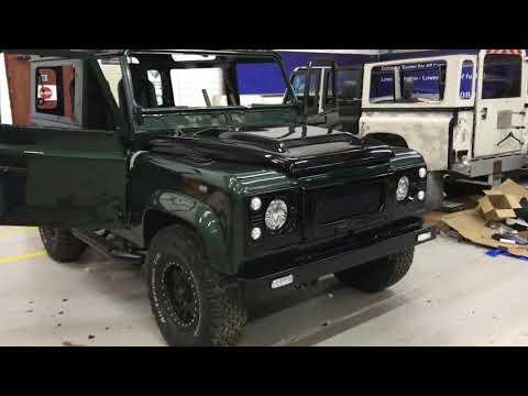 Land Rover Defender Restoration and Refurbishment