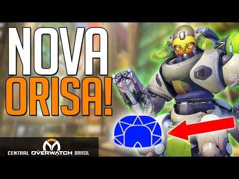 OVERWATCH | TESTANDO A NOVA ORISA!! - Central Overwatch Brasil