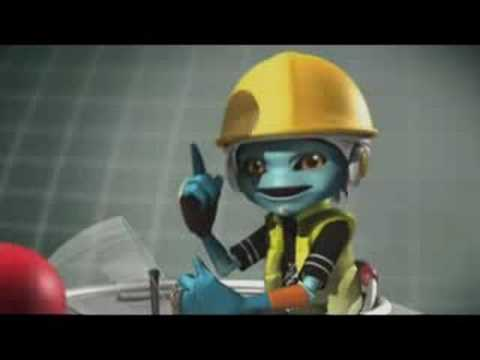 Nuclear Power Plant educated animation การ์ตูนโรงไฟฟ้านิวเคลียร์