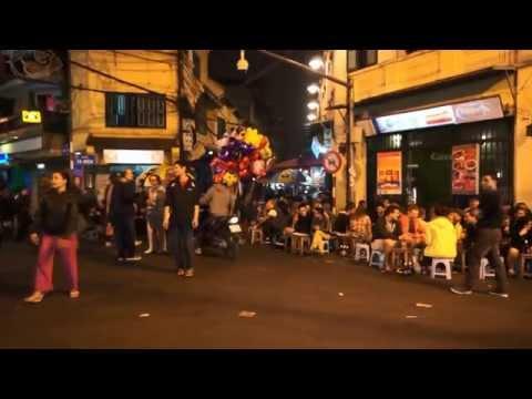 Hanoi Reisebericht Altstadt Nachtleben Video Vietnam Tour